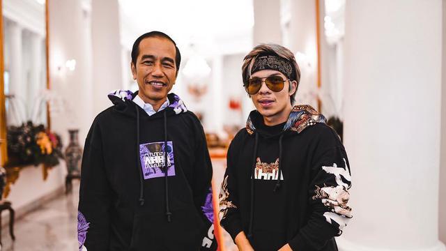 `Keseruan Atta Halilintar Grebek Jokowi di Istana Bogor