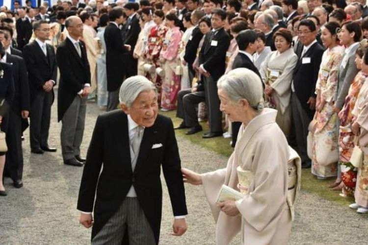 Kaisar Jepang Akihito Jalani Ritual Sebelum Turun Takhta