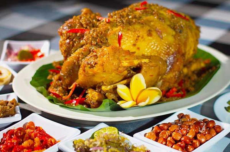 Ayam Betutu Kuah